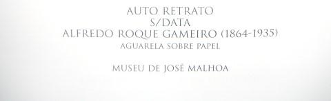 Undated self-portrait. Alfredo Roque Gameiro (1864-1935), watercolour on paper, José Mahloa Museum.