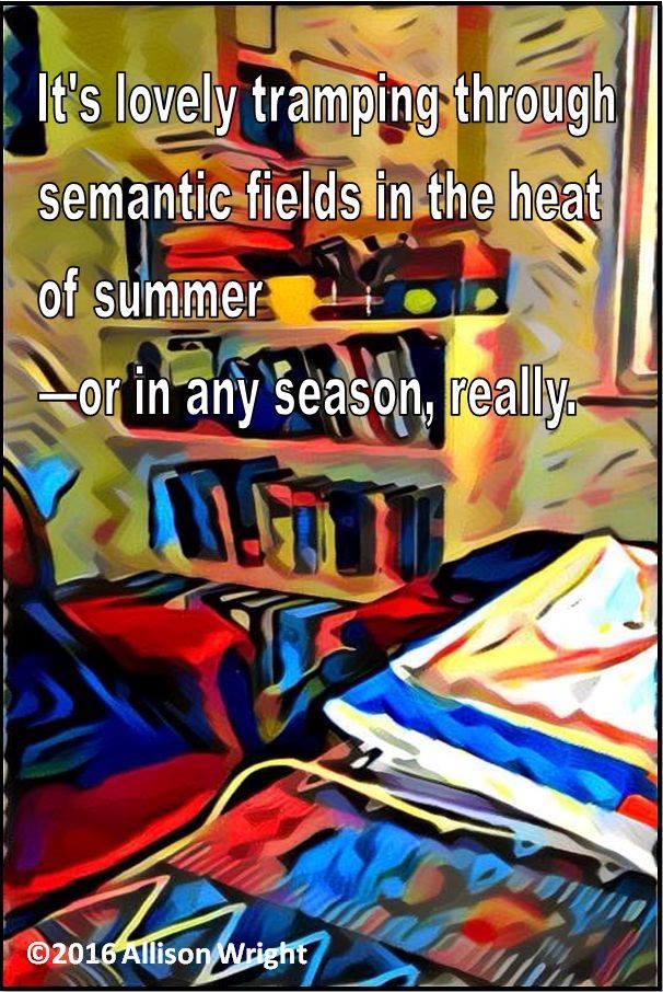 tramping through semantic fields