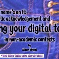 Marking your digital territory