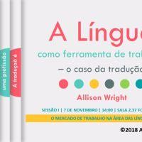 A língua como ferramenta de trabalho