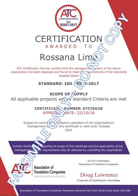 ISO 18587-2017 cert - facsimile